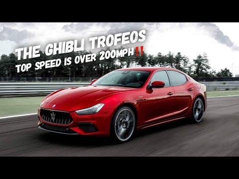 The 2021 Maserati Ghibli Trofeo Goes OVER 200 MPH!