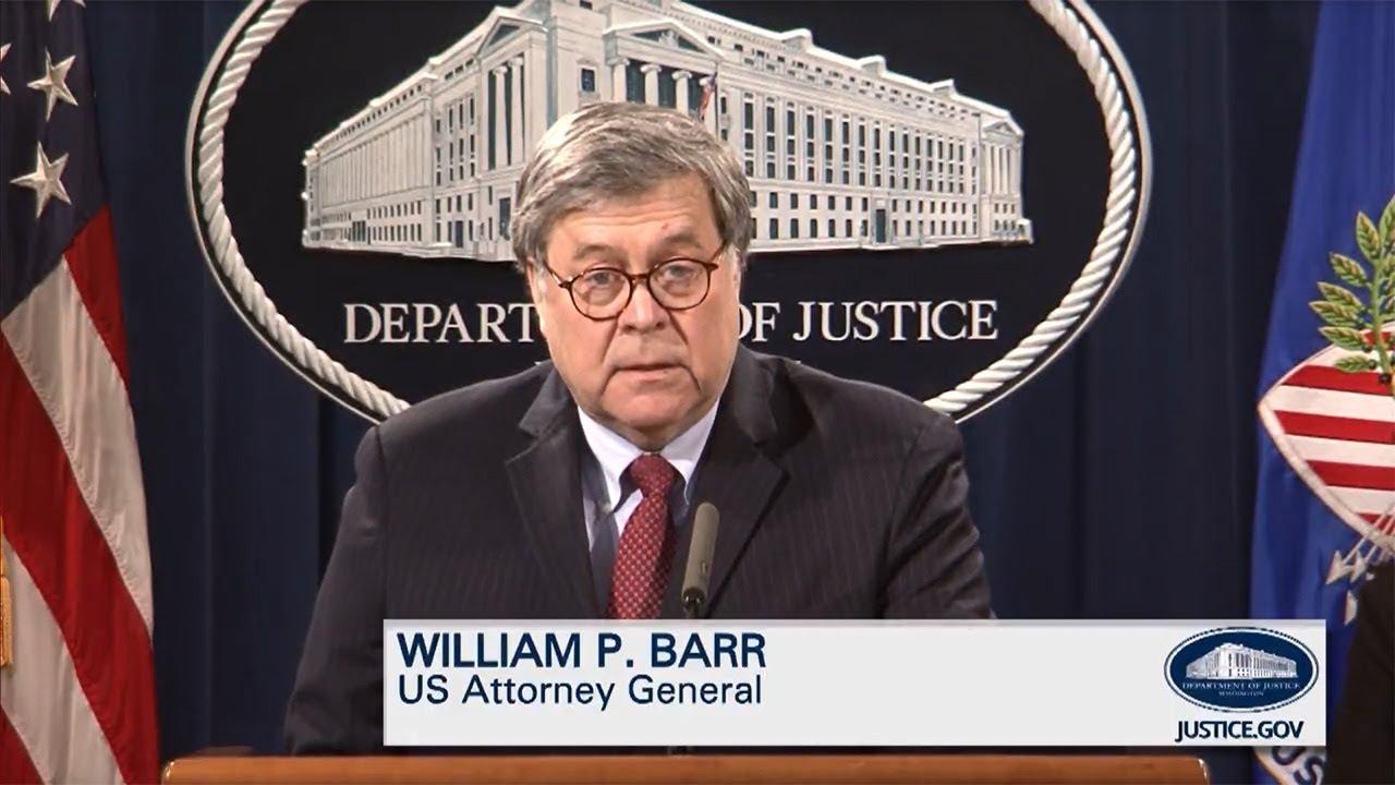 Attorney General Barr & DOJ leadership speak on Mr. George Floyd and Civil Unrest