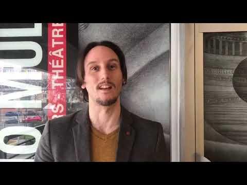 Aymeric, élève comédien au Studio Muller