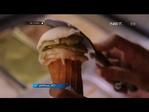 Uniknya Es Krim Rasa Jahe Hanya di Tempo Del Gelato - Ok Food Episode 53