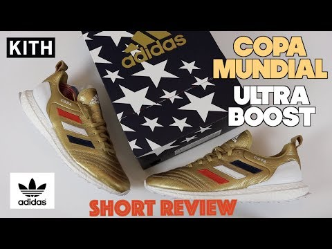 Adidas Kith Copa Mundial 18 Ultra Boost Short Review