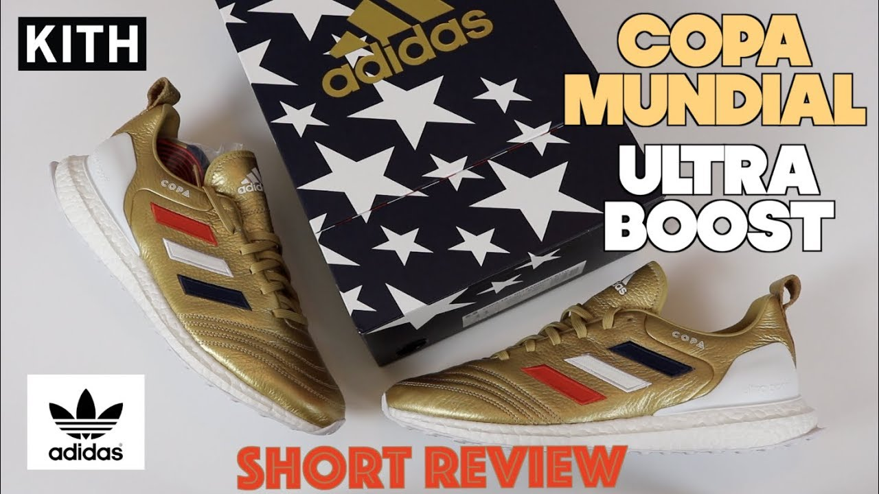 buy popular ccf07 928d4 Adidas Kith Copa Mundial 18 Ultra Boost Short Review