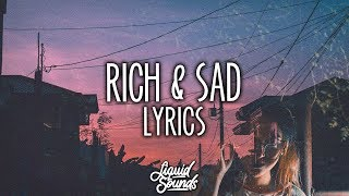 Post Malone - Rich & Sad (Lyrics / Lyric VIdeo)