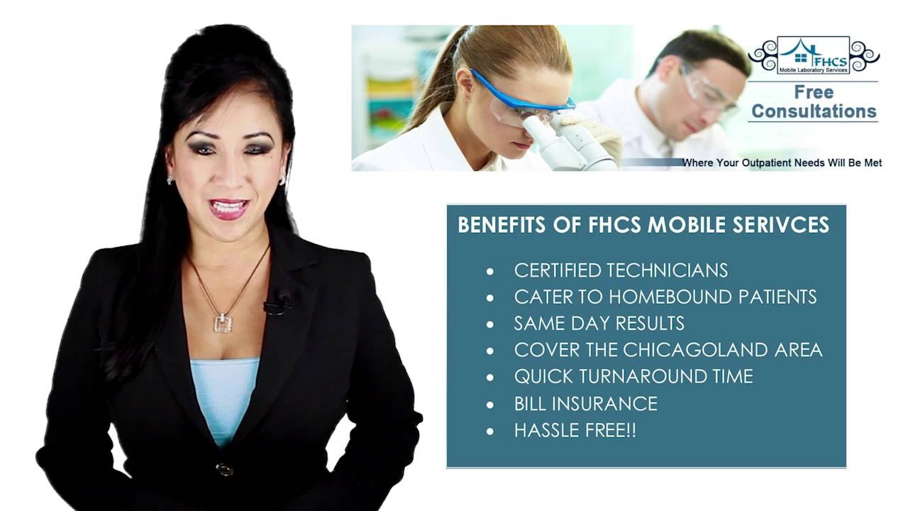 FHCS Mobile Lab Services medical laboratory home health care