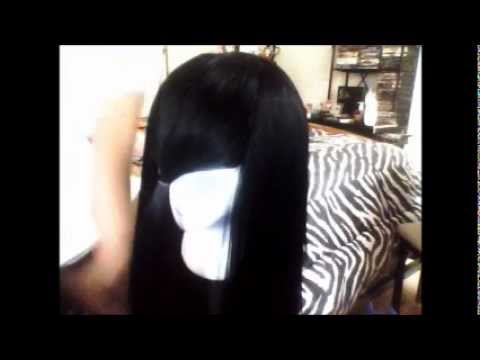 Nicki Minaj Inspired Thick Bangs Youtube