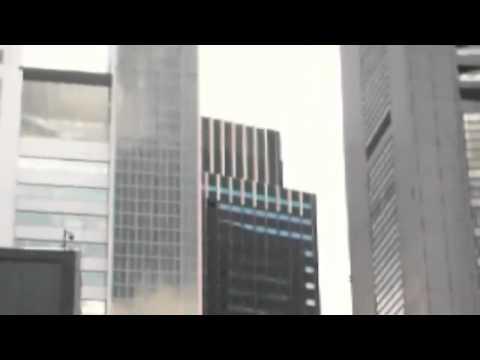 Massive earthquake Japan, at Tokyo High-rise buildings are swaying at Shinjuku on March 11, 2011