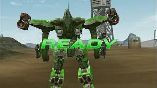 Armored Core Formula Front (PSP) Testing my new AC (desc.)