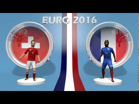 Suisse - France EURO 2016