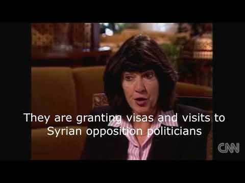 Flashback 2005 - CNN's Amanpour Tells Syria's Assad: 'US Govt is Coming For You!'