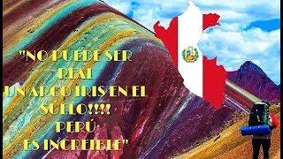 Instagramers descubren un arco iris en el suelo de Perú y lo vuelven tendencia mundial