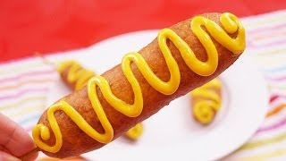 How to Make Corn Dogs: Easy Corn Dogs Recipe: From Scratch: Diane Kometa - Dishin With Di Ep. 142