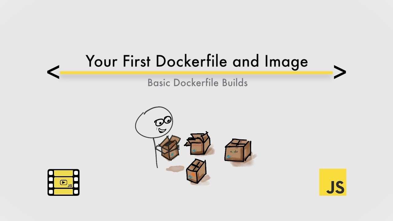 Creating your first Dockerfile, image and container