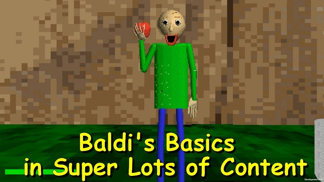 Baldi's Basics in Super Lots of Content Demo 7 - Baldi's basics 1 3 2  decompiled mod