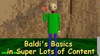 Baldi's Basics in Super Lots of Content Demo 7 - Baldi's basics 1.3.2 decompiled mod