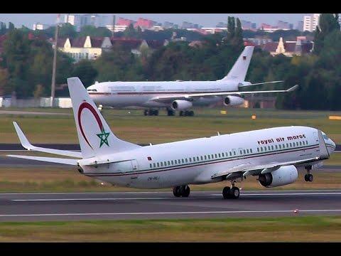 Royal Air Maroc Boeing 737-8B6 CN-RGJ takeoff - Berlin Tegel airport