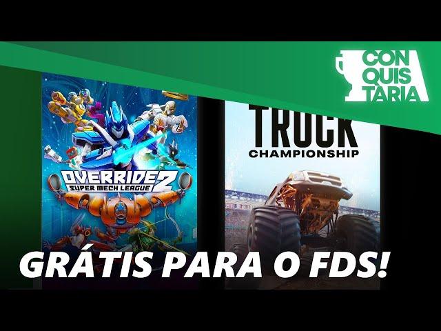 Monster Truck e jogo Brasileiro de Robos Gigantes grátis no fim de semana - Free to Play Days