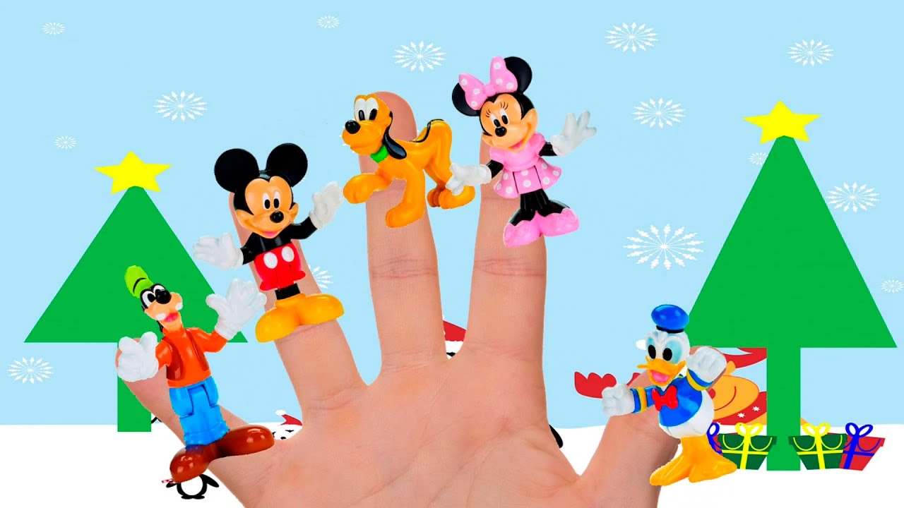 9da1295f Mickey Mouse Clubhouse Finger Family|Nursery Rhymes Disney Minnie Mouse  collection|Top finger family