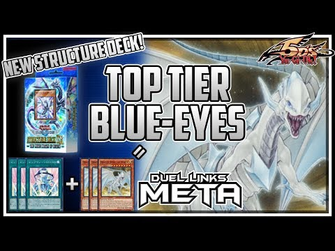 New TOP TIER Blue-Eyes vs Tier 1 Decks | 5D's Structure Deck [Yu-Gi-Oh! Duel Links]