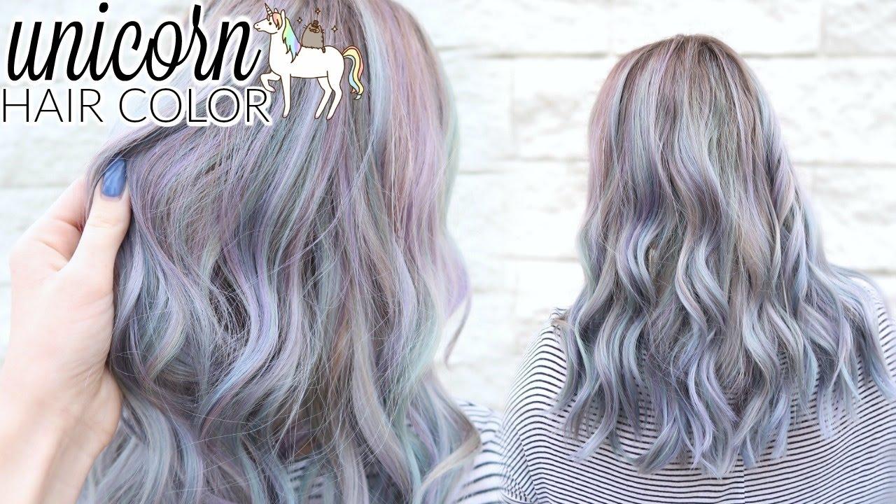 Unicorn Lavender Periwinkle Hair Color Ft Lime Crime