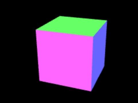 WebGL - Solid 3d Cube | ProgrammingTIL