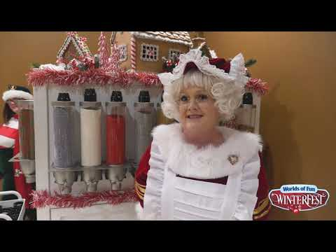 Interview with Mrs. Claus at WinterFest