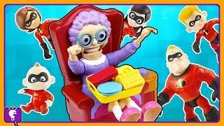 Incredibles Vs Greedy Granny by HobbyKidsTV