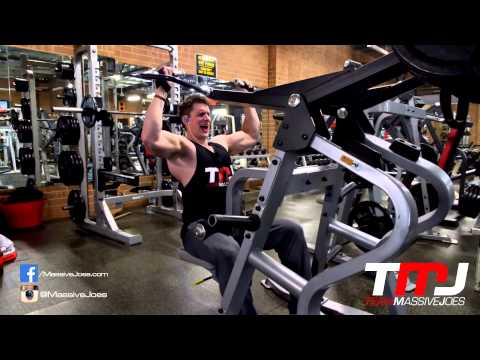 GYM -  Back Workout 4 Aug 2014   Powerhouse Gym Adelaide