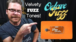 Warm Audio Foxy Tone Box Pedal Demo - Fat Fuzz and Octave Fuzz Tones