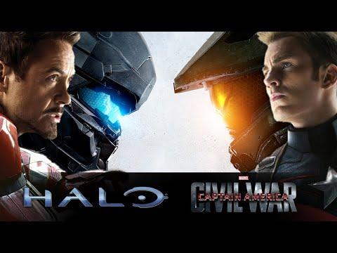 Captain America: Civil War - Halo Cinematic Trailer #1 - HD [720p]