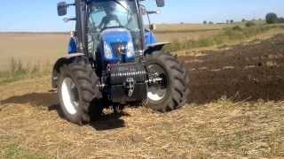 New Holland T6.120 + Unia Ibis LS