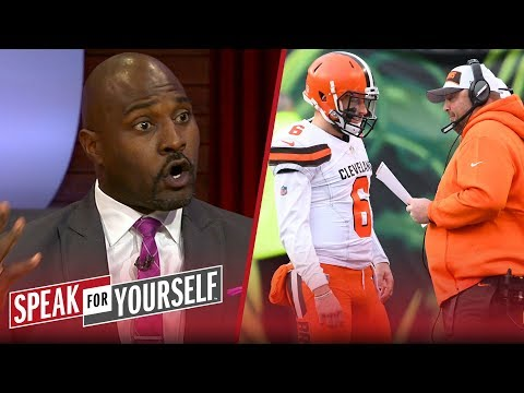 Marcellus Wiley believes Freddie Kitchens hiring will help Baker Mayfield | NFL | SPEAK FOR YOURSELF