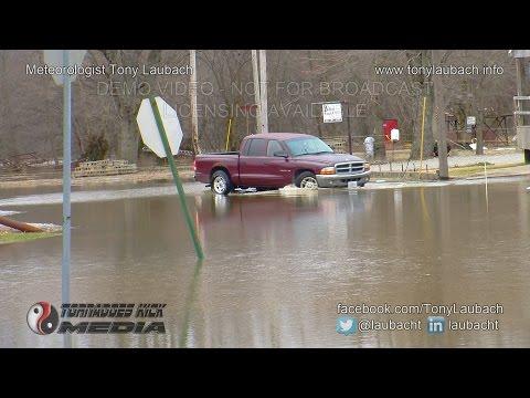03/18/2015 Carmi, IL - Little Wabash River Flood