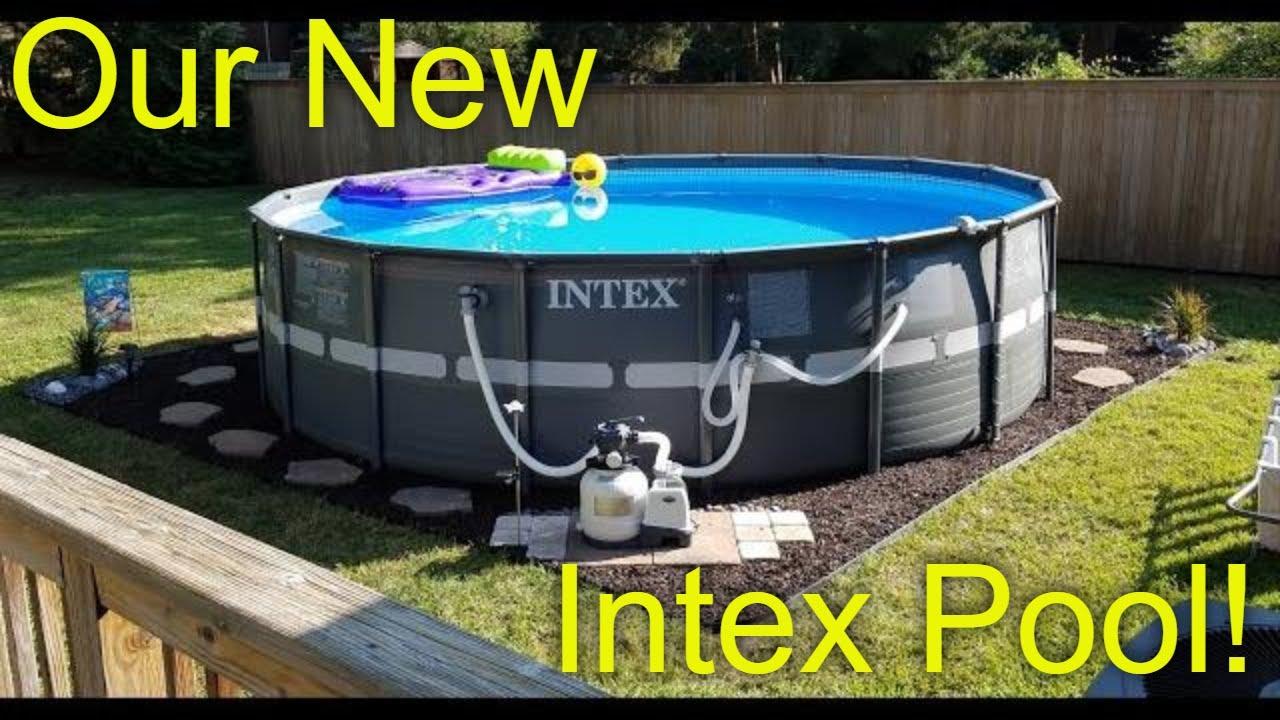 Intex Ultra Xtr 18 Ft Above Ground Pool