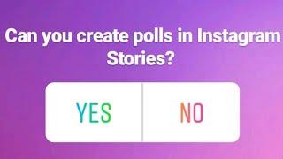 [Comment] de Créer des sondages dans Instagram Histoires.