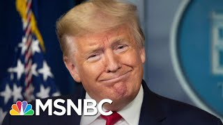 NYT: Trump Allies Think Coronavirus Briefings Hurt Him More Than Help Him | The 11th Hour | MSNBC