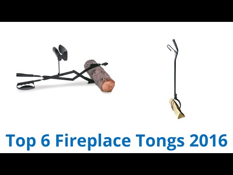 6 Best Fireplace Tongs 2016