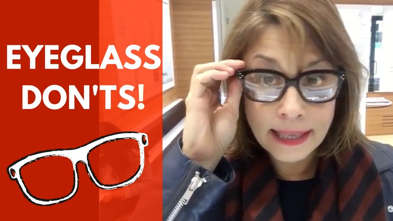 175a699650a5 What eyeglasses to wear when you don t want to look old - YouTube