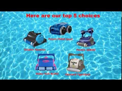 Top 5 Best Robotic Pool Cleaners