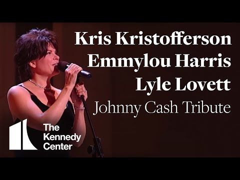 kris-kristofferson,-lyle-lovett,-emmylou-harris-(johnny-cash-tribute)---1996-kennedy-center-honors