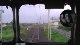 【前面展望】西桐生~大胡~中央前橋【朝の上毛電気鉄道・上毛線】