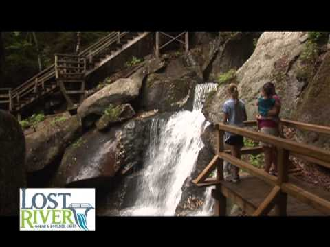 Lost River Gorge & Boulder Caves- North Woodstock, NH summer 2013