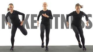 постер к видео Кардио тренировка для сжигания жира| Упражнения для похудения в домашних условиях| Фитнес дома.