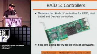 Defcon17 HARD DRIVE RAID RECOVERY 2009 Part 3/5