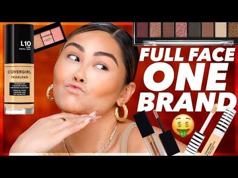 DRUGSTORE FULL FACE ONE BRAND: Covergirl 🤑 | Roxette Arisa