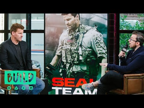 "David Boreanaz Discusses CBS' ""SEAL Team"" Season 2"