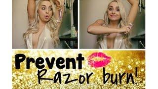 10 Tips To Prevent Razor Burn