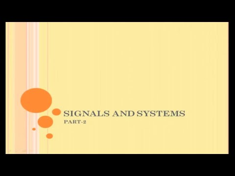 Classification of Signals | part-2|Continuous and Discrete Time signal