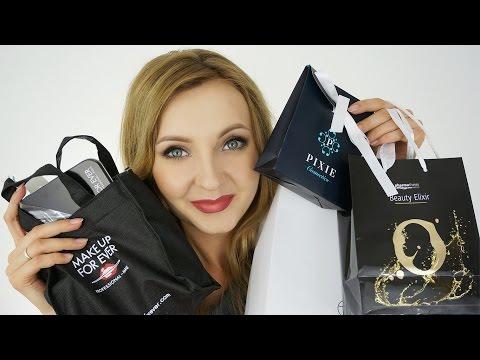 Haul Zakupowy - Targi kosmetyczne Beauty Forum, MakeUp For Ever, MAC- podsumowanie :)