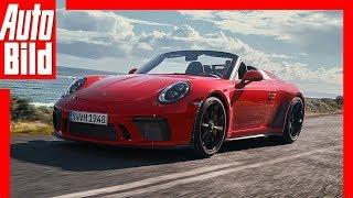Porsche 911 Speedster (2019): 991 - Test - Infos - Preis - Motor - Cabrio