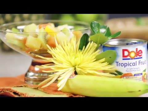 DOLE® Tropical Island Fruit Salad | Simple Recipe